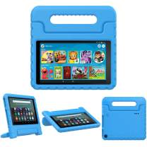 TiMOVO Case for Fire 7 Kids Case, Fire 7 Tablet Case, Lightweight Shockproof Convertible Handle Stand, Kids Case for All-New Fire 7 Tablet (9th Generation, 2019 Release) - Blue
