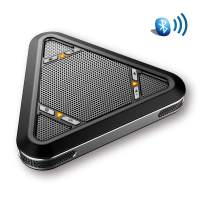 Tenveo A500B Bluetooth Conference Speakerphone - Conference Call Speaker - Conference Microphone for skype Zoom 5-8 People Business Conference
