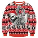 RAISEVERN Unisex Kids Funny Ugly Christmas Sweater Long Sleeve Pullover Knitted Sweaters Jumper Tops