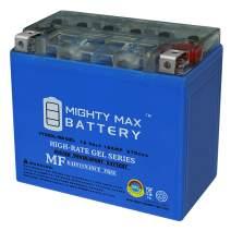YTX20L-BSGEL - 12V 18AH 270 CCA - Gel SLA Power Sport Battery - Mighty Max Battery Brand Product