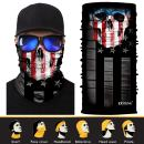 JOEYOUNG 3D Face Sun Mask, Neck Gaiter, Headwear, Magic Scarf, Balaclava, Bandana, Headband Fishing, Hunting, Hiking, Running, Motorcycling, UV Protection, Great for Men & Women