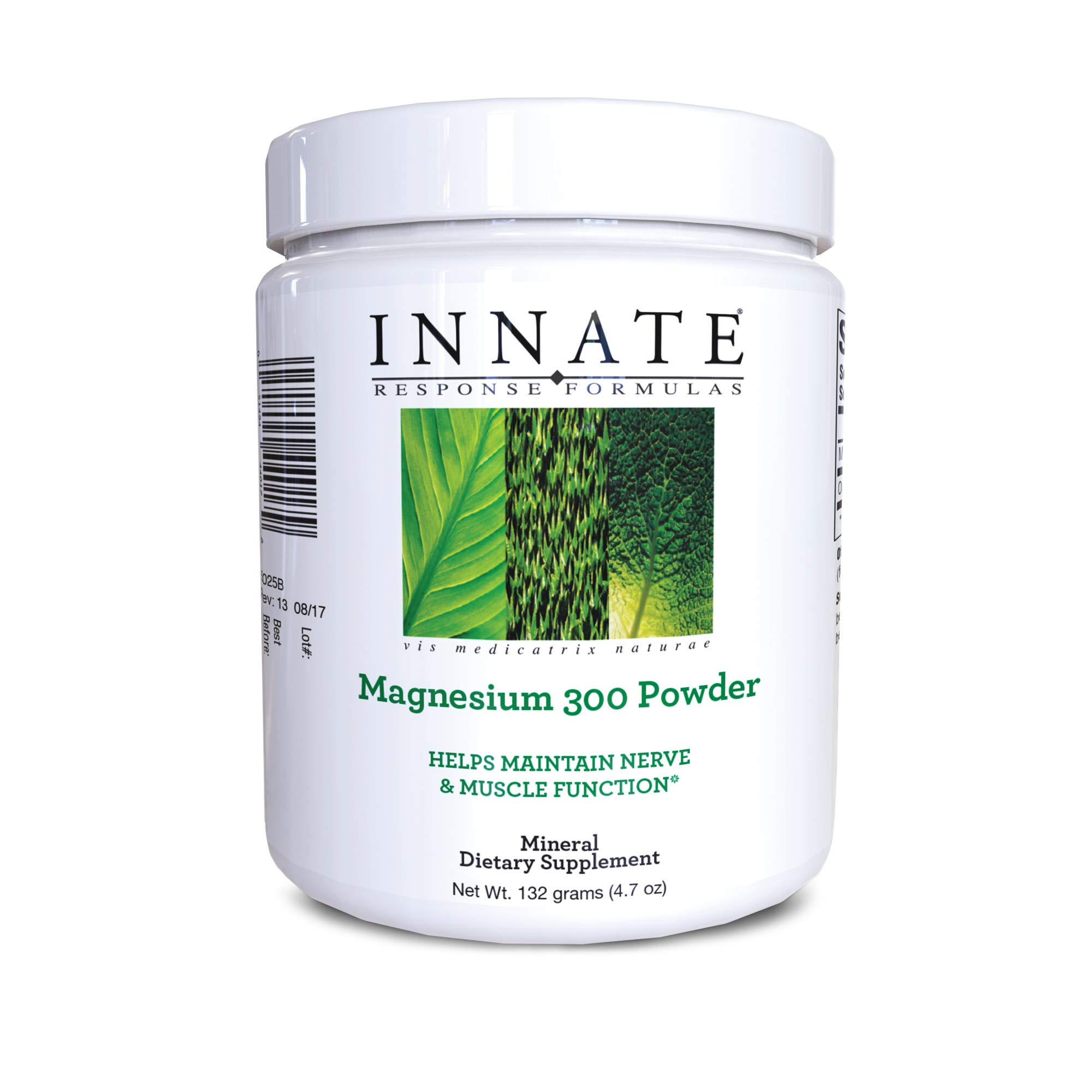 INNATE Response Formulas, Magnesium 300 Powder, Mineral Supplement, Vegetarian, 4.7 oz (60 servings)