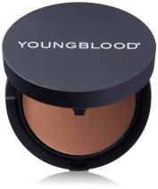 Youngblood Clean Luxury Cosmetics Mineral Radiance Crème Powder Foundation, Rose Beige | Foundation for Oily Skin Rosacea Dry Matte Shine-Free Pressed Compact Natural Mineral