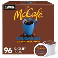 McCafé Colombian, Keurig Single Serve K-Cup Pods, Medium-Dark Roast Coffee Pods, 96 Count