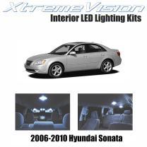 Xtremevision Interior LED for Hyundai Sonata 2006-2010 (5 Pieces) Cool White Interior LED Kit + Installation Tool