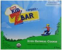 Clif Kid ZBAR - Organic Granola Bars - Iced Oatmeal Cookie - (1.27 Ounce Energy Bars, Lunch Box Snacks, 6 Count)