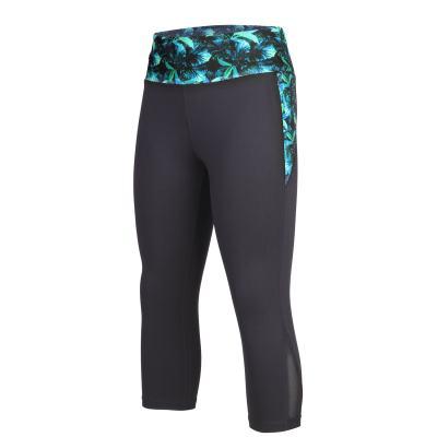 beroy Women's Active Workout Leggings Training Yoga Pants High Waist Tummy  Control Capri Legging with Pocket