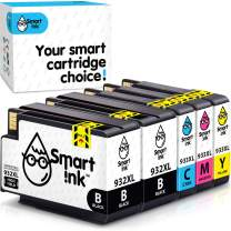 Smart Ink Compatible Ink Cartridge Replacement for HP 932XL 933XL 932 XL 933 High Yield (Black,Cyan,Magenta,Yellow, 5-Pack Combo) Officejet 6600 6100 6700 7110 7510 7610 7612 7510