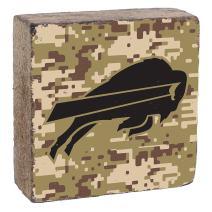 Rustic Marlin Designs NFL Camo Logo Block