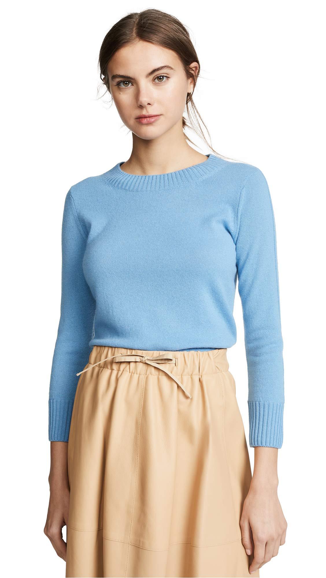 Vince Women's Shrunken Cashmere Pullover