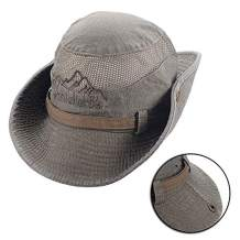 KISSBELLY Outdoor Sun Hat Fishing Hiking Bucket Hats for Men Women Safari Hats