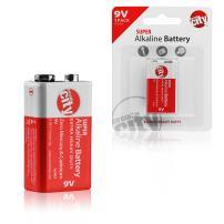 Essential Circuit City 9V High Performance Alkaline Batteries (Single Pack)