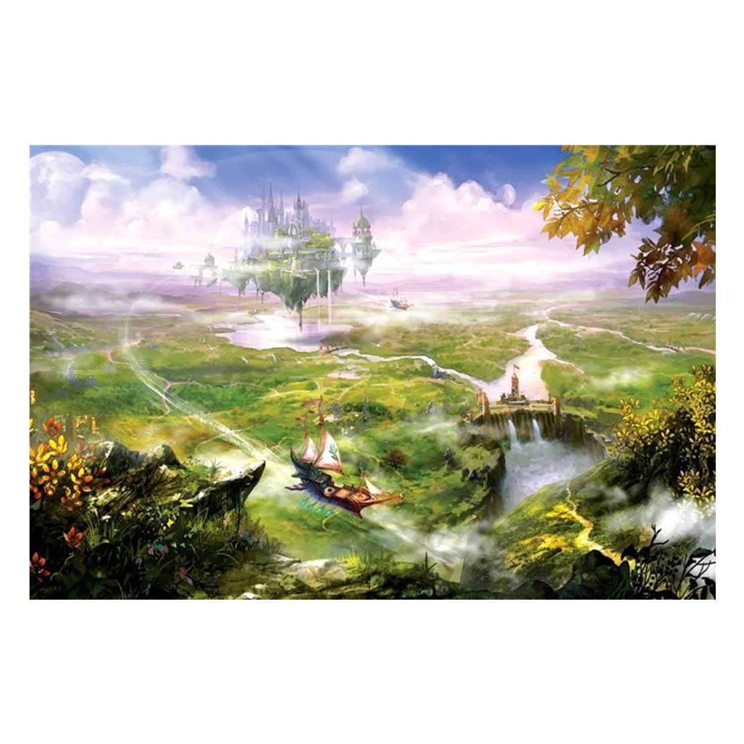 Jigsaw Puzzles 1000 Pieces for Adults(Suspension City)