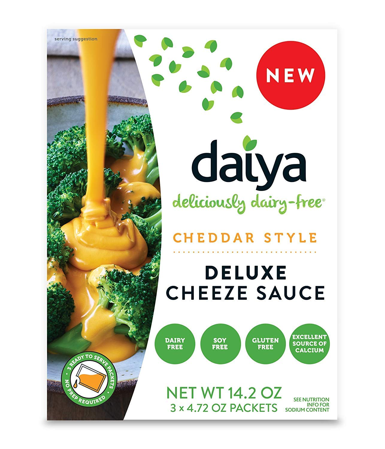 Daiya Cheddar Style Cheeze Sauce :: Plant-Based Macaroni & Cheese Sauce :: Vegan, Dairy Free, Gluten Free, Soy Free, Rich Cheesy Flavor (2 Pack)