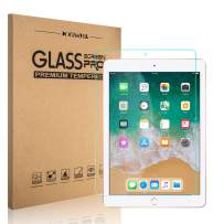 DONWELL Compatible for iPad 9.7/iPad 5 6 Screen Protector Bubble Free Anti Scratch Tempered Glass Protective Cover Compatible with iPad 5th 6th Generation/iPad Pro 9.7 Model A1823 A1822 (1 Pack)