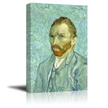 """Self Portrait by Van Gogh Giclee Canvas Prints Wrapped Gallery Wall Art 