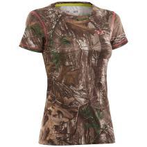 Under Armour Womens Heatgear Evo Camo Shirt