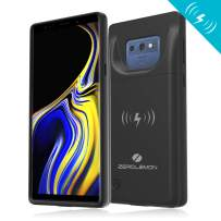 Galaxy Note 9 Extended Battery Case with Qi Wireless Charging, ZeroLemon Slim Power 5000mAh Rechargeable Battery Charger with Full Edge Protection for Galaxy Note 9 - Black