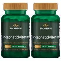 Swanson Phosphatidylserine - Triple Strength 300 mg 30 Sgels 2 Pack