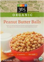 365 Everyday Value, Organic Peanut Butter Balls, 10 oz
