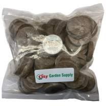 Jiffy 7 Peat Pellets 36 MM Seed Starting Plugs, Seeds Starter. Start Plant Seedlings Early (Pack of 50)