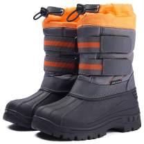 BMCiTYBM Toddler Snow Boots Boys Girls Kids Winter Shoes Waterproof Cold Weather Outdoor (Toddler/Little Kids/Big Kids)