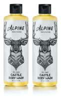Alpine Provisions, Organic Castile Body Wash, Fir + Sage, Biodegradable, Vegan, 16 fl oz, Pack of 2