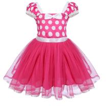 IBTOM CASTLE Toddlers Baby Girls' Polka Dots Princess Party Pageant Dress Up Dance Skirt