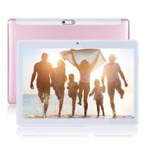 Xgody Tablet Android, 2GB RAM 32GB Storage, 10 inch Android Tablets, Android 7.0, 1280x800 IPS Full HD Display, Bluetooth 4.0, 3G Wi-Fi, Rose Gold