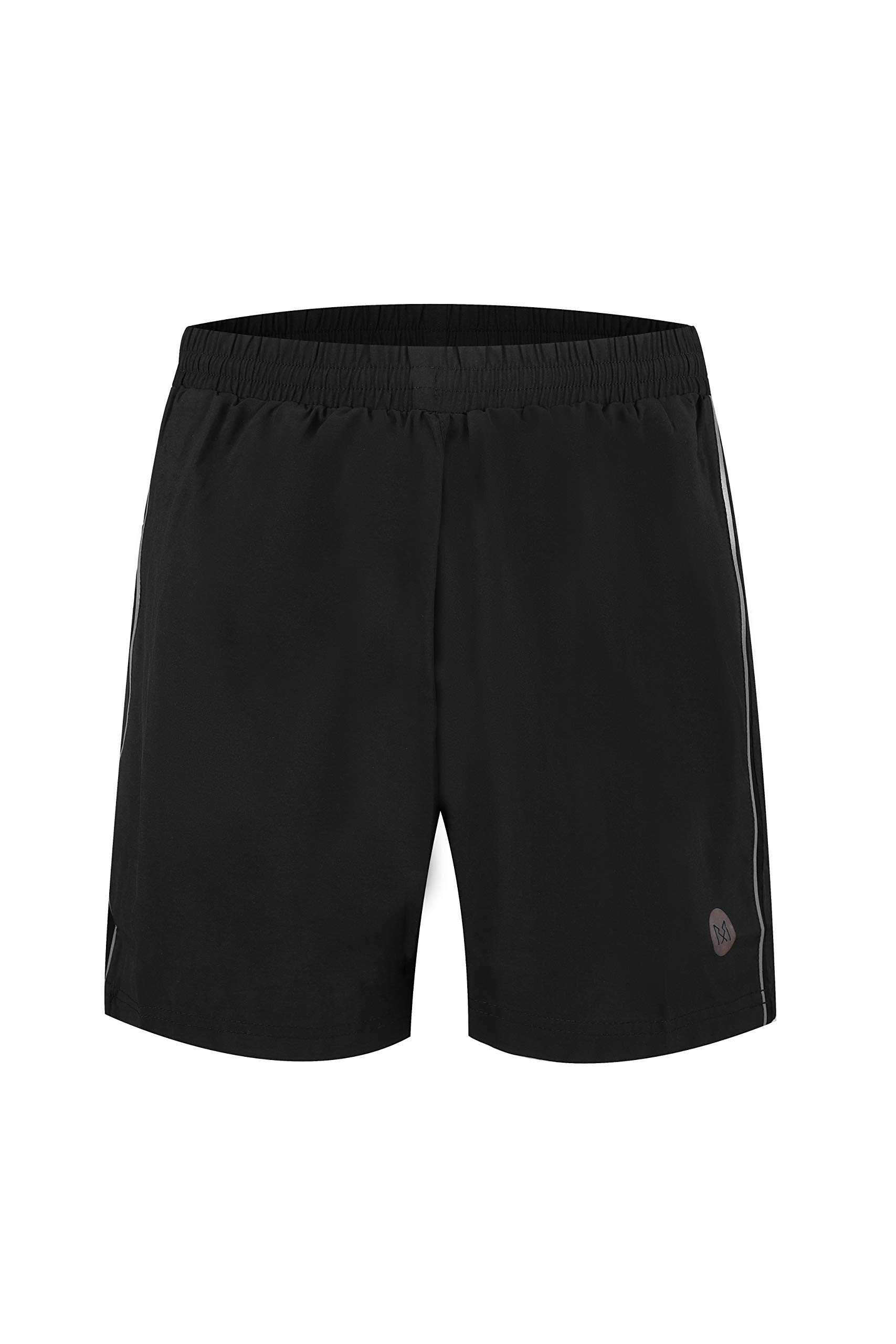 Rabrgab Men's 2-in-1 Workout Running Shorts Quick Dry Lightweight Gym Shorts Men Athletic Shorts with Zip Pockets
