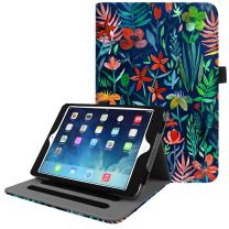 Fintie iPad Mini/Mini 2 / Mini 3 Case [Corner Protection] - [Multi-Angle Viewing] Folio Smart Stand Protective Cover w/Pocket, Auto Sleep/Wake for Apple iPad Mini 1 / Mini 2 / Mini 3, Jungle Night