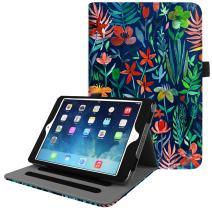 Fintie iPad Mini/Mini 2 / Mini 3 Case [Corner Protection] - [Multi-Angle Viewing] Folio Smart Stand Protective Cover w/Pocket, Auto Sleep/Wake for Apple iPad Mini 1 / Mini 2 / Mini 3, Jungle Night