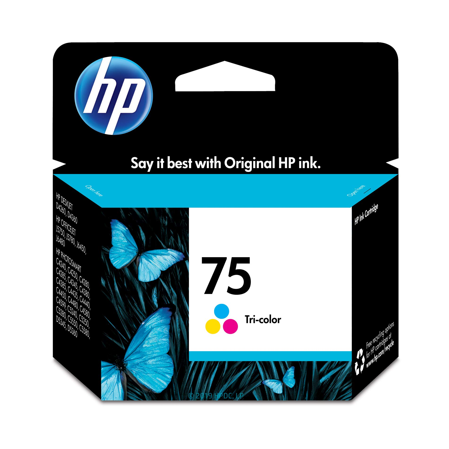 HP 75 | Ink Cartridge | Tri-color | CB337WN | DISCONTINUED BY MANUFACTURER