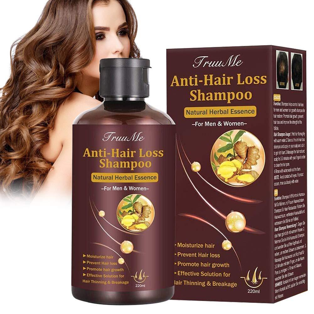 Hair Thickening Shampoo Shampoo For Hair Growth Hair Loss Shampoo Hair Loss Treatment Natural Organic Herb Shampoo For Hair Regrowth Faster Prevent Hair Loss