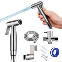 Bidet for toilet - Handheld Bidet Sprayer For Toilet - Get Clear Rear with Stainless Luxe Bidet Attachment. Best Cloth Diaper Sprayer, Bidet Toilet Seat Attachment, Feminine Wash, Toilet Water Sprayer