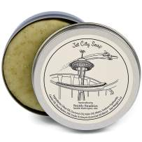 Jet City Soap-100% Natural Skin Care Bar. Scented with Essential Oils. One 4 oz Bar in a Handy Travel Gift Tin. Great For Space Needle Monorail Fans.