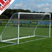 Samba Soccer Goal - Match Grade 8x6- Our Top line Premier Locking uPVC Goal That is Perfect for Field or Home. Great All Weather Goal so Leave it Out All Year. Made in The UK.