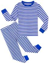 A&J DESIGN Kids Boys Pajamas Set 100% Cotton Sleepwear