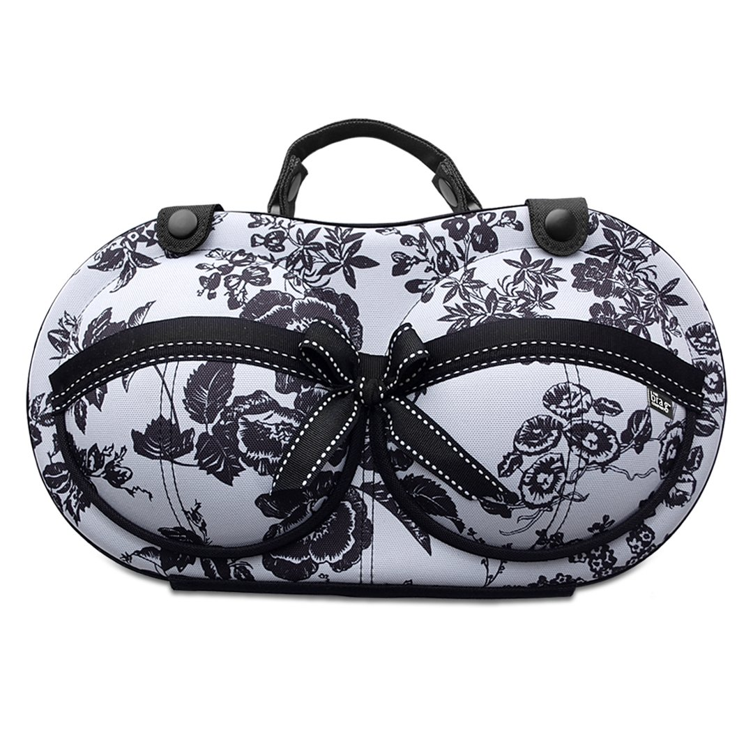 Bra & Lingerie Travel Case - Bra Organizer Storage Bag - For Bra Sizes 30A-36C