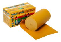 CanDo Low Powder Exercise Band, 6 yard Roll, Gold: XXX-Heavy