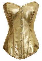 Alivila.Y Fashion Womens Sexy Steampunk Gothic Faux Leather Boned Corset Bustier