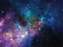 AOFOTO 7x5ft Deep Space Galaxy Nebula Backdrop Universe Sparkling Galactics Starry Sky Milky Way Stars Background for Photography Kid Adult Birthday Party Events Decoration Photo Studio Prop Vinyl