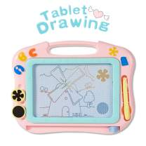 HahaGift Toys for 2 Year Old Girls Gifts, Magnetic Doodle Erasable Board for Girls Birthday Gifts for 2 3 4 Year Old Girls Toys Age 1-4,Toddlers Educational Drawing Board for Girls Gifts Age 2-6