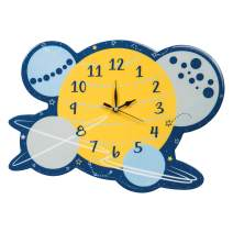 Trend Lab Galaxy Wall Clock, Silent, Battery Operated