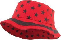 Floral Galaxy Leaf Aztec Tropical Print Bucket Hat Summer Boonie Cap