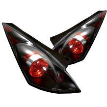 Spyder Auto Nissan 350Z Black Altezza Tail Light