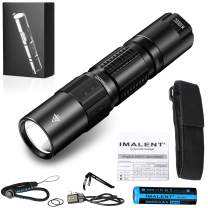 IMALENT DM21C Tactical Flashlight Rechargeable 2000 Lumens High Lumen, Water Resistant, Handheld Torch 3000mAh 18650 Battery Best for Camping, Outdoor, Emergency, Everyday Flashlights