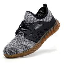 SITAILE Steel Toe Indestructible Shoes for Men Women Slip Resistant Composite Toe Work Shoes