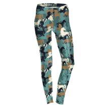 BAIXITE Women's 3D Digital Printed Stretchy Leggings Full-Length Soft Yoga Capris Slim Pencil Workout Pants (Various Prints)