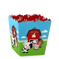 Farm Animals - Party Mini Favor Boxes - Baby Shower or Birthday Party Treat Candy Boxes - Set of 12